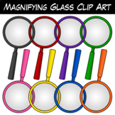 FREE Magnifying Glass Clip Art
