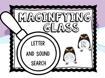 Magnifying Glass Letter Search
