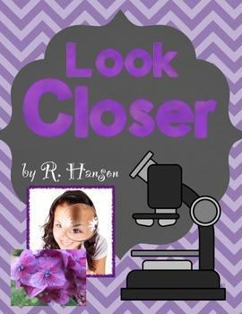 Magnifying Glass & Microscope Informational Text & Lab Project K-2