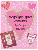 Magnifying Glass Printable Valentines