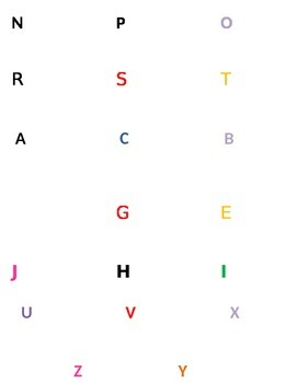 Magnifying Letters and Numbers