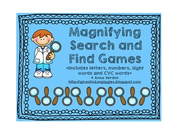 Magnifying Search and Find Games