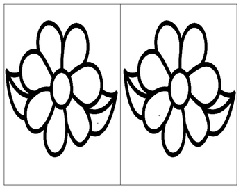 Magnifying Sight Words- Flowers