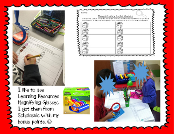 Magnifying Sight Words--Year-Long Bundle