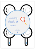 Magnifying glasses: Reading resource