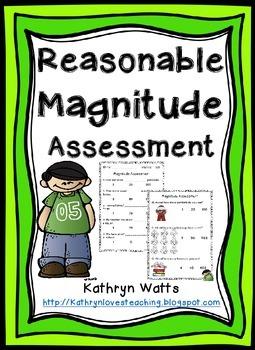 Magnitude Assessment