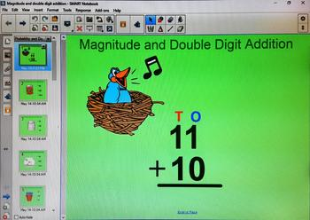 Magnitude and Double Digit additon
