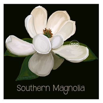 Magnolia Art - magnolia clip art, magnolia Printable Tracey Gurley Designs