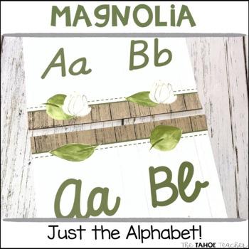 Magnolia Classroom Alphabet Line