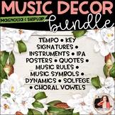 Magnolia & Shiplap Music Decor BUNDLE! {Symbols, Instruments, Rules, & More!}