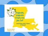 Magnolia where are you hiding? (La game that id colors, letters and shapes)
