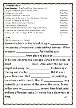 Magpie Island Learning Activities