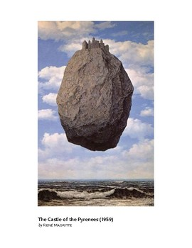 Magritte The Castle of the Pyrenees Surrealism