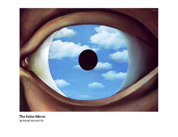 Magritte The False Mirror Surrealism