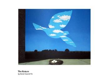 Magritte The Return Surrealism Grades 1-2