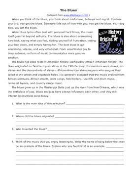 Mahalia Jackson- 5th Grade Reading Street Study Guide