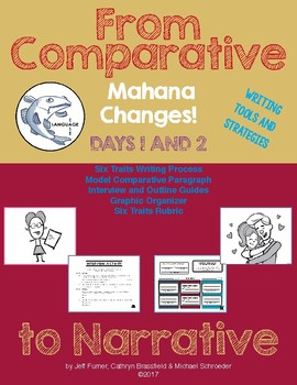 Mahana Changes! Comparative & Narrative Writing