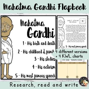 Mahatma Gandhi Teaching Resources | Teachers Pay Teachers