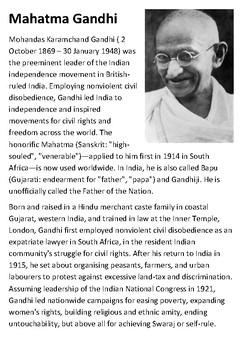mahatma gandhi biography in english pdf free download