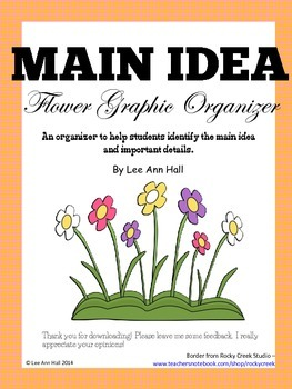Maid Idea Organizer - Flower
