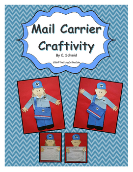 Mail Carrier Craftivity