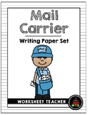 Mail Carrier Writing Paper Set