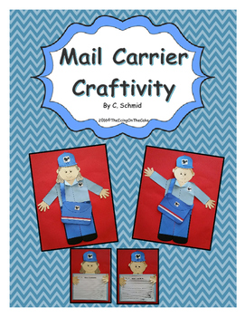 Mail Carrier Writing and Craftivity Bundle