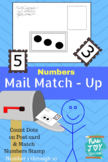 Mail Match Up, Numbers  Post Office Dramatic Play 1-10 Counting