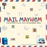 Mail Mayhem Board Game (Multisyllabic Words with Vowel Tea
