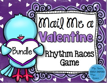Mail Me a Valentine Rhythm Game: Bundled Set