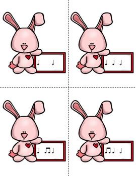Mail Me a Valentine Rhythm Game: Half Note
