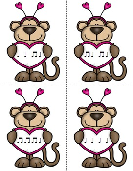 Mail Me a Valentine Rhythm Game: Ta Ti-Ti
