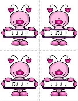 Mail Me a Valentine Rhythm Game: Ta, Ti-Ti, Rest