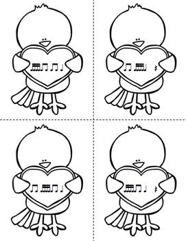 Mail Me a Valentine Rhythm Game: Tika-Tika (Sixteenth Notes)