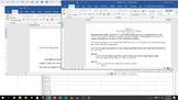 Mail Merge Mad Libs or Mad Libs Mail Merge (MS Word and MS Excel)