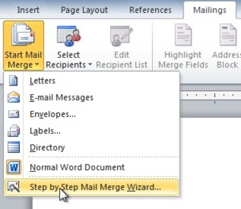 Mail Merge Review