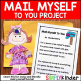 Mail Myself Project - Community Helpers or Valentine's Day Project