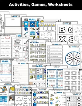 Mail / Post Office Classroom Center Activity Bundle