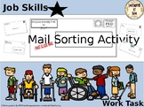 Mail Sorting Task Box Activity