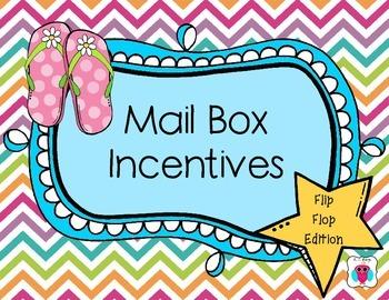 Mailbox Behavior Incentives- Flip Flops Edition
