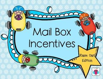 Mailbox Behavior Incentives- Race Car