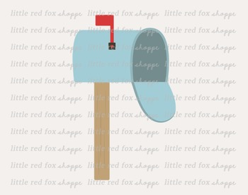 Mailbox Clipart; Mail Box, Post Office, Letter