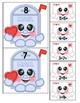 Mailbox Cuties Addition to 10 Match Valentine's Day File Folder Game Math Center