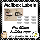Mailbox Labels Template