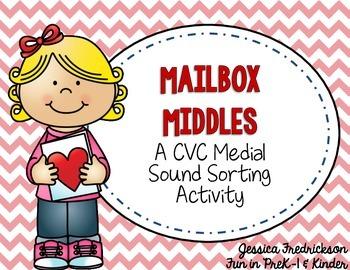 Mailbox Middles: A Valentine CVC Activity