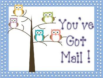 Mailbox Owl Sign