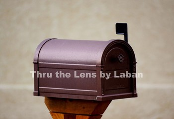 Mailbox and Flag Stock Photo #165
