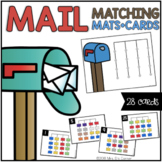 Mailbox and Letter Matching Mats and Activity Cards (Patterns, Colors, and Match