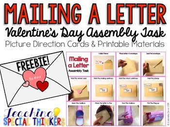 Mailing a Letter: Valentine's Day Assembly Task