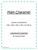 Main Character - Common Core Aligned